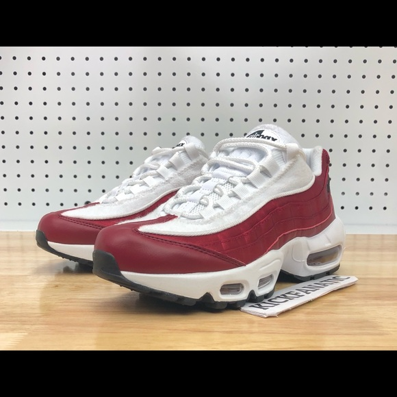 53ba66eb134 Nike Air Max 95 LX NSW Red Crush White New